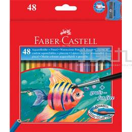 輝柏-48色水彩色鉛筆-彩魚圖案  114448