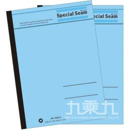 25K藍色平裝筆記本40入  80125040