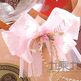 手作禮花中8*8公分-粉紅