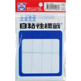華麗空白標籤WL1006