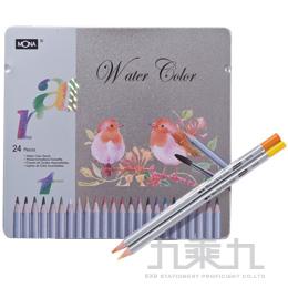 MONA 70506水溶色鉛筆24色