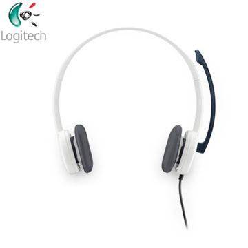 羅技 Logitech  H150耳機麥克風-白色