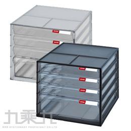 SHUTER 樹德 桌上型4抽資料櫃 DD-113 (3小1大)