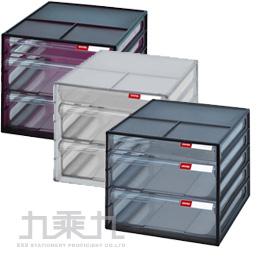 SHUTER 樹德 桌上型3抽資料櫃 DD-121 (1小2大)