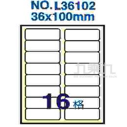 標籤 鐳射36*102mm