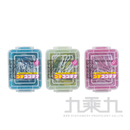 ABEL 力大牌 彩色迴紋針 粉紅色系 NO.45001-PK