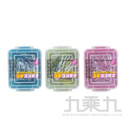 ABEL 力大牌 彩色迴紋針 藍色系 NO.45001-BL