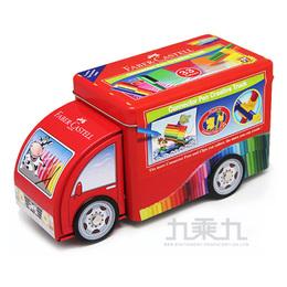 輝柏33色卡車造型彩色筆