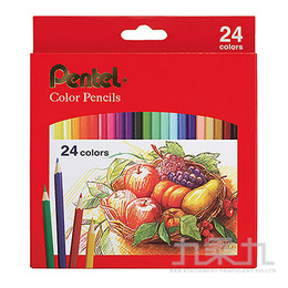 Pentel Color Pencils彩色鉛筆24色組CB8-24T