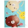 熊貓兔25K固頁橫線筆記本﹙B﹚  LW-5558B