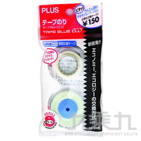 PLUS  強黏雙面膠帶機補充帶 37-360