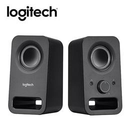 羅技Logitech多媒體揚聲器-黑Z150