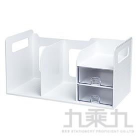 Sysmax 超大型創新書架整理盒(白色) 42300