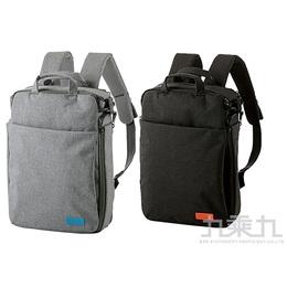 ELECOM 帆布3Way薄型後背包