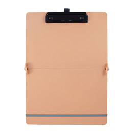 ABEL 隨行折疊板夾-粉桔色 66236-OR