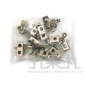 誌揚 鈕扣式附夾(10入) ID807-10