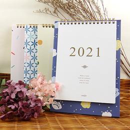 2021年32K時間絮語直式桌曆