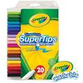 Crayola可水洗細桿彩色筆20色 58-8106
