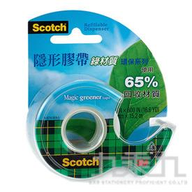3M 綠材質隱形膠帶附切台 810GD