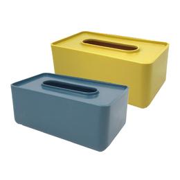 (2011+79) 莫蘭迪色面紙盒(多色隨機) 1個