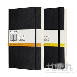 MOLESKINE 經典加量型軟皮筆記本-L型黑