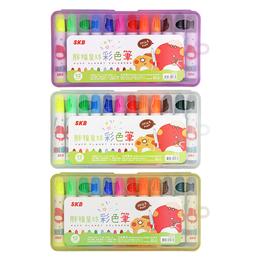 SKB 彩色筆12色 (顏色隨機)