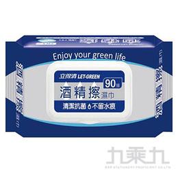 立德清酒精擦濕巾90抽  WDS96527