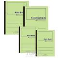 13K綠色平裝筆記本40入 3PF11040