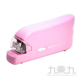 Inozto 10號針電動訂書機-粉紅 BOF10