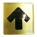 沙蒙FS銅牌貼牌FS-906﹙方向箭頭﹚