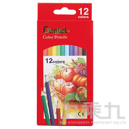 Pentel Color Pencils彩色鉛筆(12色組) CB8-12T