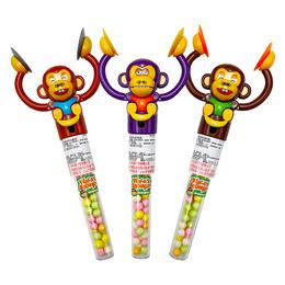 統記猴子拍拍手玩具+糖果18g
