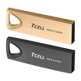 TCELL 冠元 USB3.0 浮世繪鋅合金隨身碟(可刻字) (64GB / 128GB / 256GB )