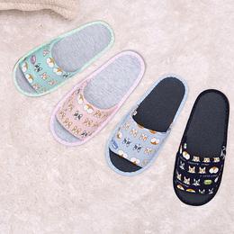 超Q賣萌柯基室內布拖鞋 96043