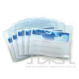 誌揚 橫式軟式識別證套5入 ID-806-5