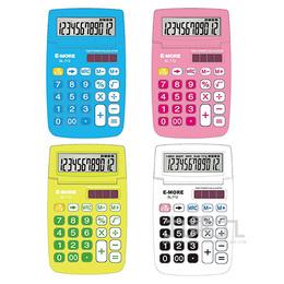 E-MORE 彩色繽紛計算機SL-712(12位)(顏色隨機出貨)