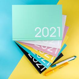 2021年25K玩色精裝直式週誌