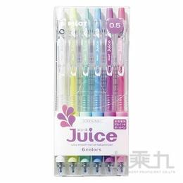 PILOT 百樂 Juice果汁筆-粉彩色(6入) LJU-60EF-P-S6