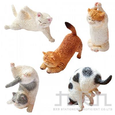 Animal Life 貓瑜珈寶寶(日版) (恕不挑款)