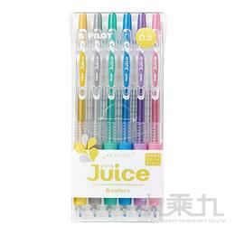PILOT 百樂 Juice果汁筆-亮彩(6色入) LJU-60EF-M-S6