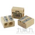 KUM捲筆刀 原木雙孔 (德國製) 1070202