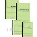 18K綠色平裝筆記本40入 3PF18040