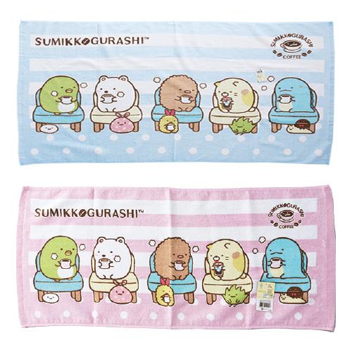 (2010+88) 角落生物 純棉洗臉巾1 個 (款式隨機)