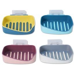 (2011+49) 莫蘭迪色皂盒(顏色隨機)