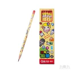 LIBERTY 利百代 Q比天使三角塗頭鉛筆 CB-175
