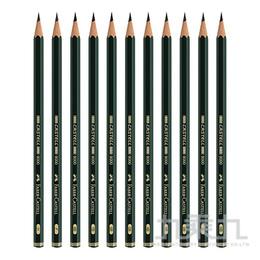 輝柏 Faber-Castell頂級9000素描鉛筆-HB 119000