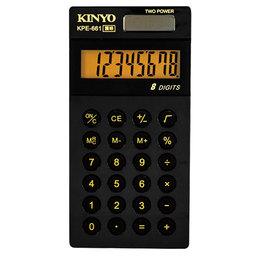 KINYO 8位元口袋型護眼計算機 KPE-661